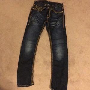 True religion jeans, size 29.
